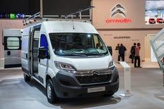 Nieuw Citroën Jumper Van Stock Afbeelding