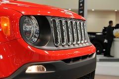 Nieuw compact jeep voordetail Royalty-vrije Stock Afbeelding