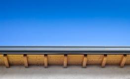 Nieuw dak stock foto
