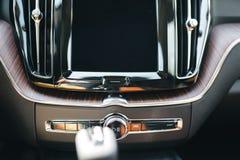 Nieuw de autobinnenland van Volvo van 2018 XC60 Royalty-vrije Stock Fotografie
