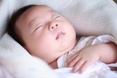 Nieuw - de geboren Jongen van de Baby Royalty-vrije Stock Afbeeldingen