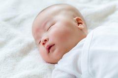 Nieuw - de geboren Jongen van de Baby Royalty-vrije Stock Foto's