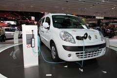 Nieuw elektrisch Renault Kangoo Royalty-vrije Stock Afbeeldingen