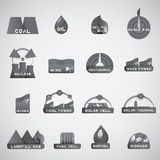 Nieuw energiepictogram Royalty-vrije Stock Afbeeldingen