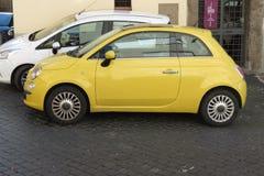 Nieuw Fiat 500 Royalty-vrije Stock Afbeelding
