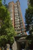Nieuw flatgebouw in Shanghai, China Stock Afbeeldingen