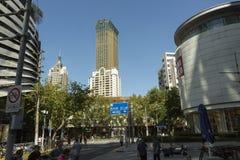 Nieuw flatgebouw in Shanghai, China Royalty-vrije Stock Afbeelding