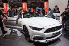 Nieuw Ford Mustang bij IAA 2015 Royalty-vrije Stock Foto's