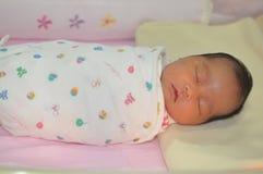 Nieuw - geboren baby Royalty-vrije Stock Fotografie