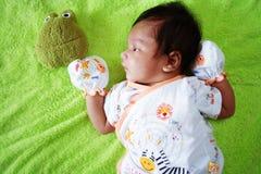 Nieuw - geboren baby Royalty-vrije Stock Afbeeldingen