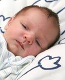Nieuw - geboren baby Royalty-vrije Stock Foto's