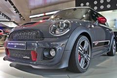 Nieuw GP Mini John Cooper Works - zijaanzicht Royalty-vrije Stock Fotografie