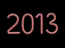 Nieuw het jaarconcept van 2013 vector illustratie