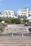 Nieuw het leven gebied in Playa-Blanca Stock Foto's