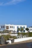 Nieuw het leven gebied in Playa-Blanca Stock Fotografie