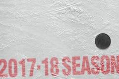 Nieuw hockeyseizoen 2017-2018 Stock Foto