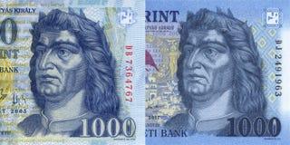 Nieuw Hongaars forint Stock Foto