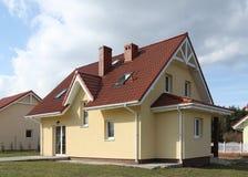 Nieuw huis Royalty-vrije Stock Foto's