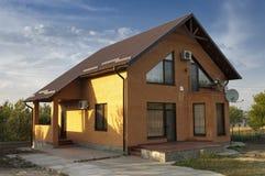 Nieuw huis. Stock Foto's