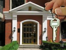 Nieuw Huis Royalty-vrije Stock Afbeeldingen