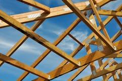 Nieuw Huis in aanbouw Stock Fotografie
