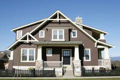 Nieuw Huis Vancouver stock foto's