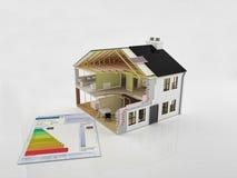 Nieuw huisbouw Stock Foto