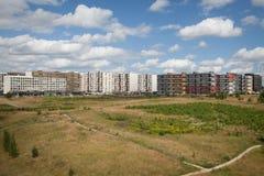 Nieuw huisdistrict Stock Fotografie