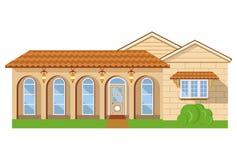 Nieuw huisillustratie Royalty-vrije Stock Afbeeldingen