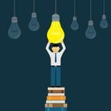 Nieuw ideeconcept Stock Fotografie