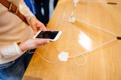 Nieuw iPhone6s Geanimeerd Behang Stock Fotografie