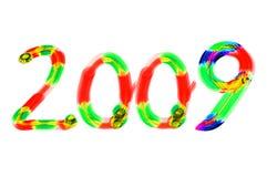 Nieuw jaar 2009 Stock Fotografie