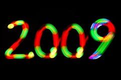Nieuw jaar 2009 Royalty-vrije Stock Afbeeldingen