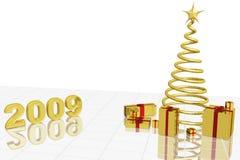 Nieuw jaar 2009 vector illustratie