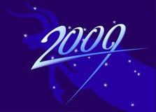 Nieuw jaar 2009 teken Stock Afbeelding