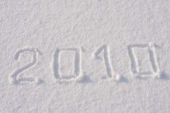 Nieuw jaar 2010 Stock Afbeeldingen
