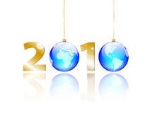 Nieuw jaar 2010 Stock Afbeelding