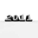 Nieuw jaar 2011 Royalty-vrije Stock Afbeelding