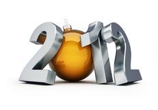 Nieuw jaar 2012 Royalty-vrije Stock Afbeelding