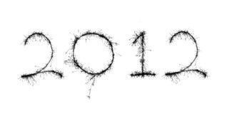 Nieuw jaar 2012 Stock Foto