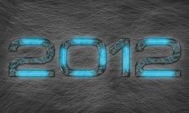 Nieuw jaar 2012 Stock Afbeeldingen