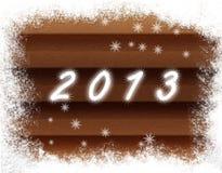 Nieuw jaar 2013 Stock Foto's