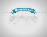 Nieuw jaar (2013) royalty-vrije illustratie
