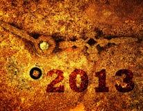 Nieuw jaar 2013 Stock Afbeelding