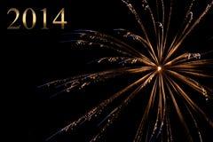 Nieuw jaar 2014 Royalty-vrije Stock Foto's