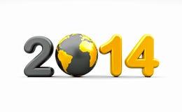Nieuw jaar 2014 Royalty-vrije Stock Afbeelding