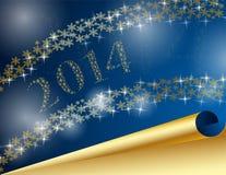 Nieuw jaar 2014 Stock Foto's