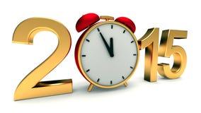 Nieuw jaar 2015 Royalty-vrije Stock Afbeeldingen