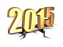 Nieuw jaar Stock Afbeelding
