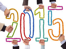 Nieuw jaar Royalty-vrije Stock Afbeeldingen